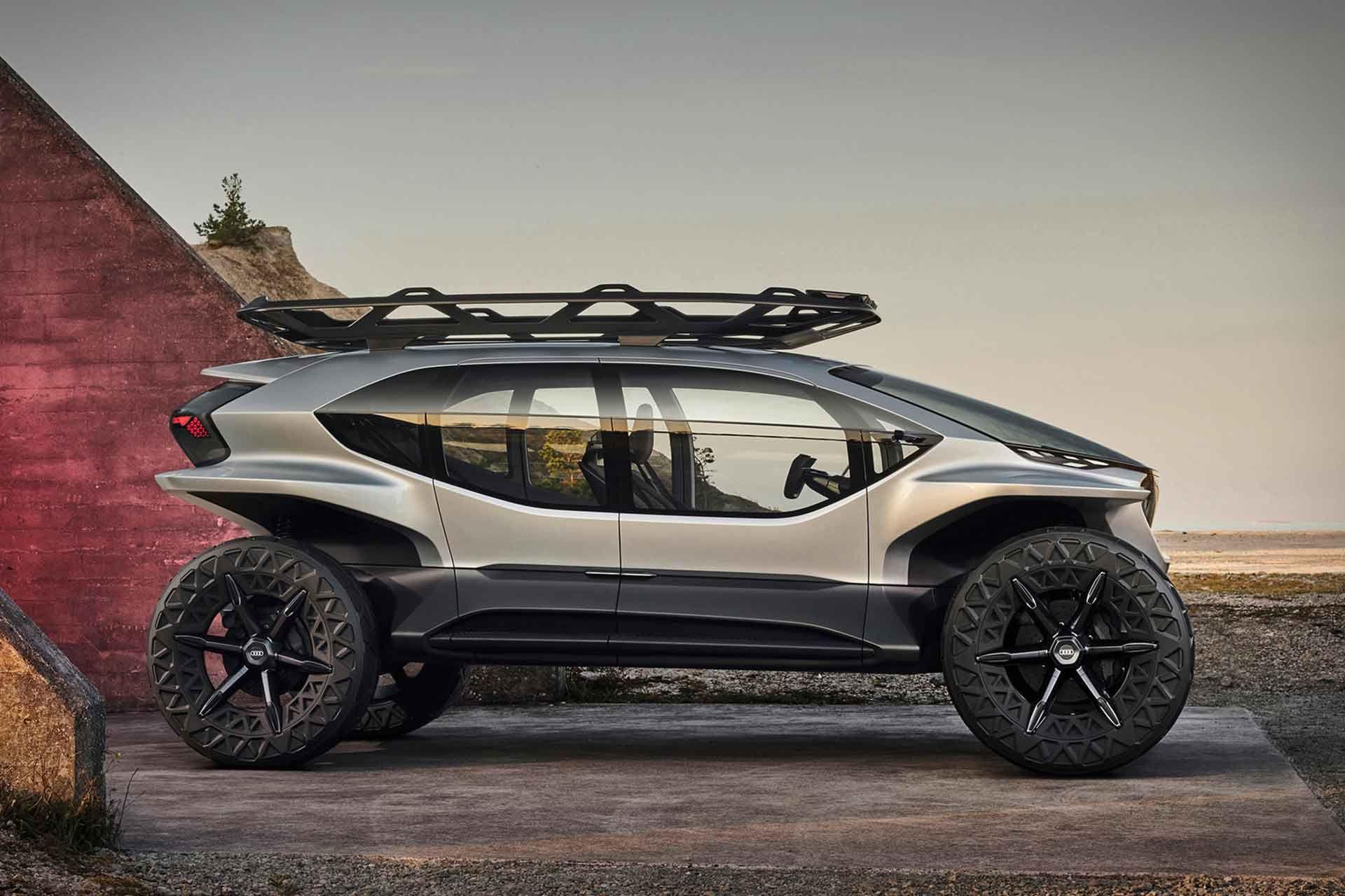 Audi AI:Trail Quattro Concept SUV | Concept cars, Audi, Vehicles