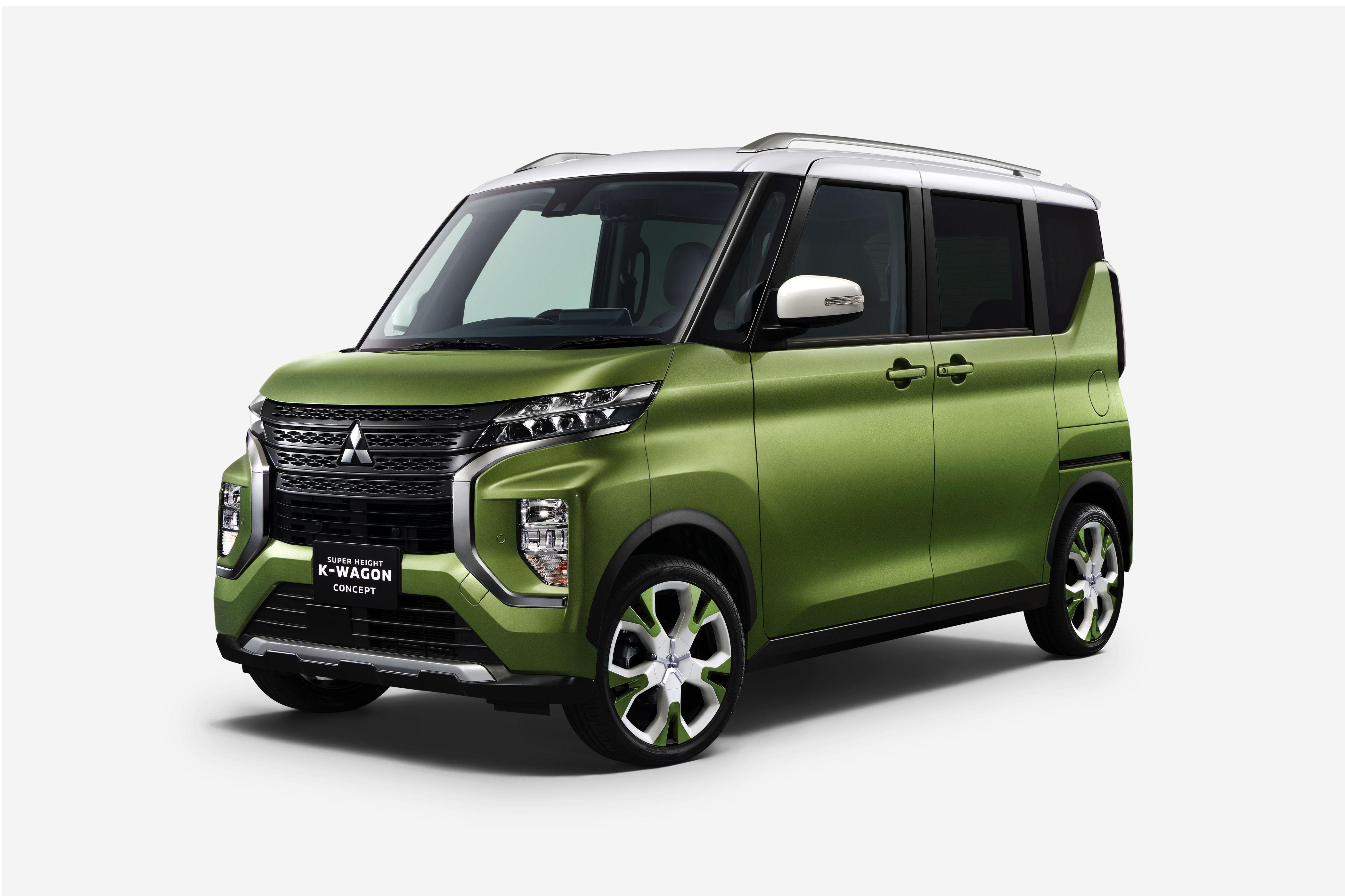 2020 Mitsubishi Super Height K-Wagon Concept @ Top Speed | Kei car, Mitsubishi ek wagon, Tokyo motor show