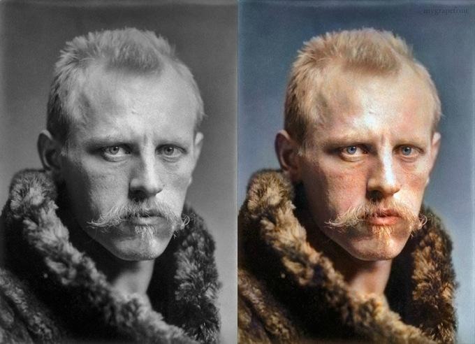 Фритьоф Нансен - норвежский полярный исследователь, учёный