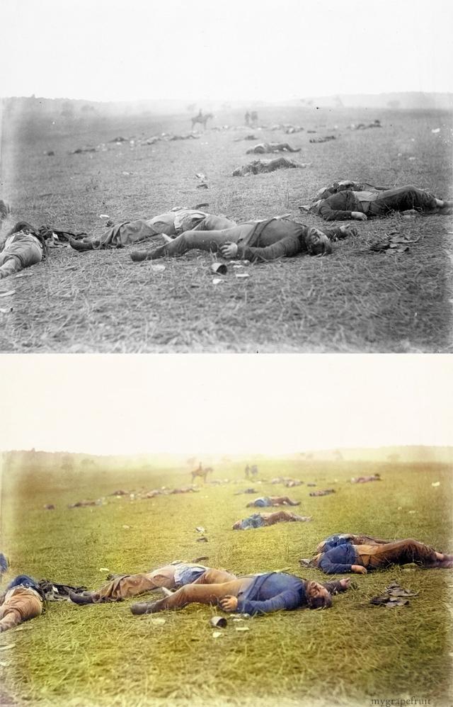 Урожай смерти (The Harvest of Death),1863 - самое кровопролитное сражение в ходе гражданской войны в США.