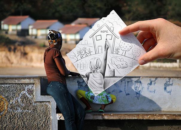 Бен Гейне, интересные картинки, фотографии с картинкой, Ben Heine