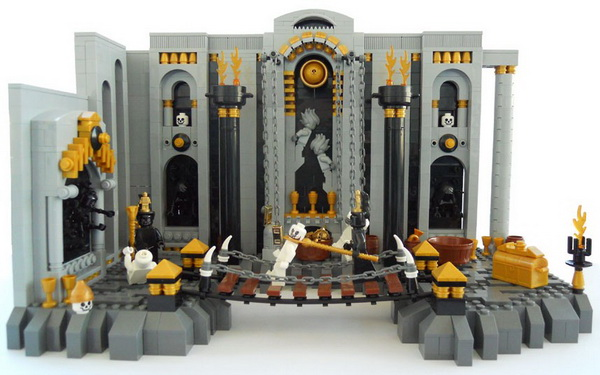Девять кругов Лего Ада Данте