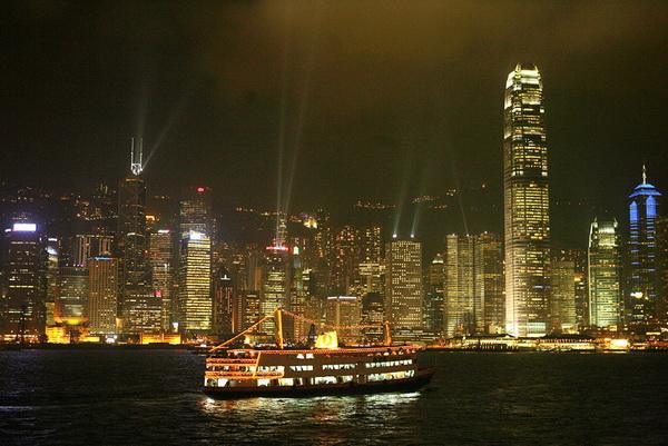 HONG KONG-HANDOVER-10YEARS-ARCHITECTURE