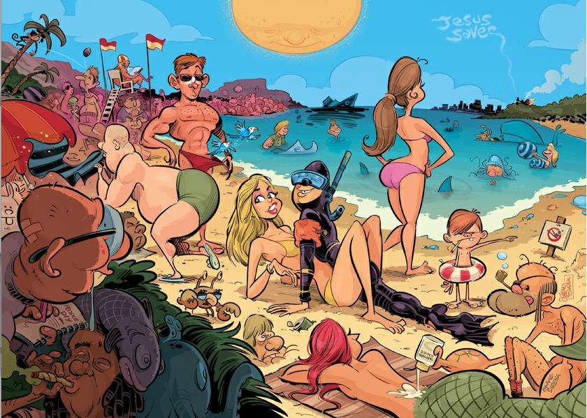 Шедевральные  карикатуры Anton Emdin