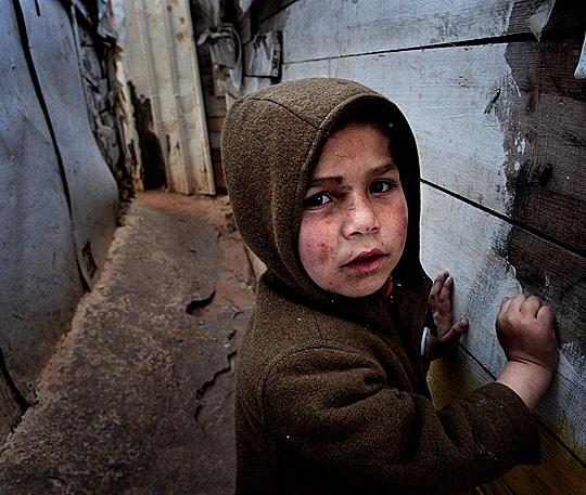 Мальчик из трущоб