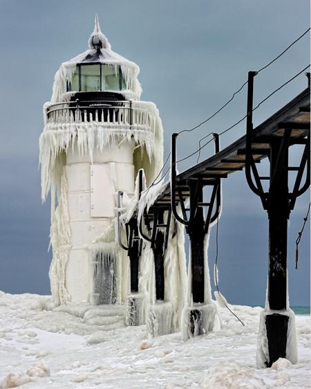 Замороженный свет. фото:John McCormick