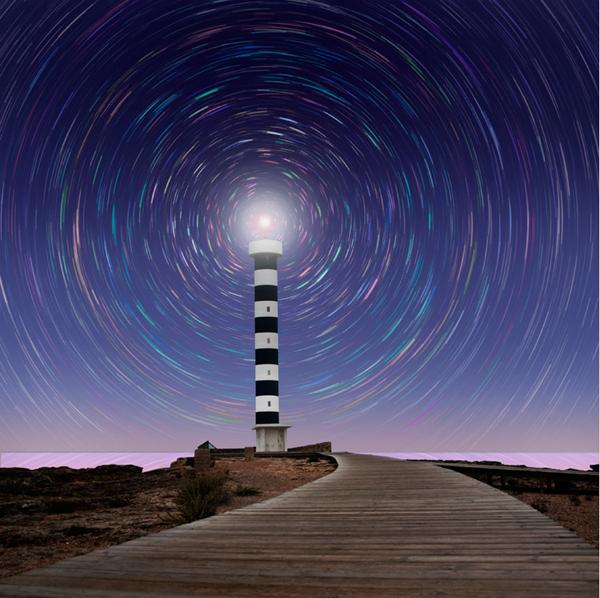 Магия маяка. фото: Caras Ionut