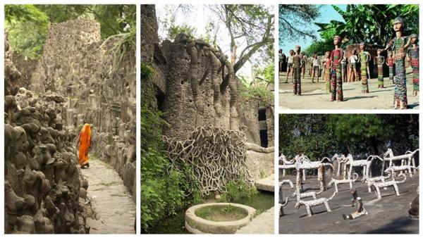 Каменный сад Чандигар