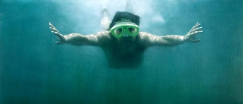 Художница Мартина Эмдур: Погруженные в воду
