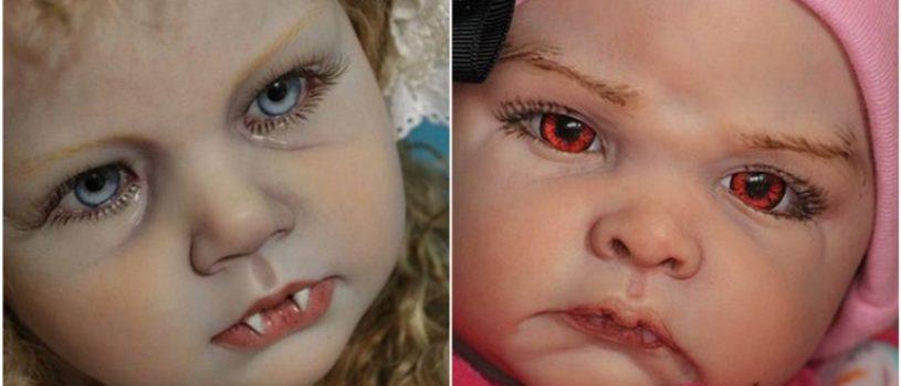 Думаете все новорожденные – милашки? А новорожденные вампирчики?