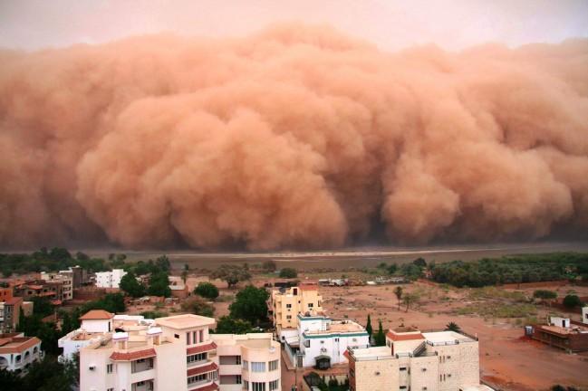 Хабуб самая опасная песчаная буря в мире