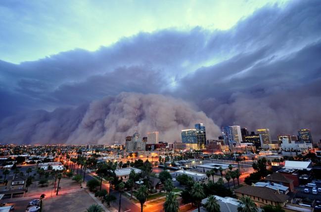 Хабуб песчаная буря