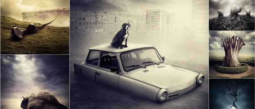 Сюрреалистические фото-манипуляции Шаролты Бан (Sarolta Bán)