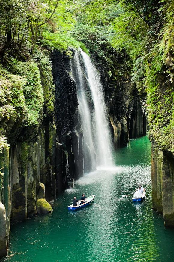 Ущелье Такачихо (Takachiho)