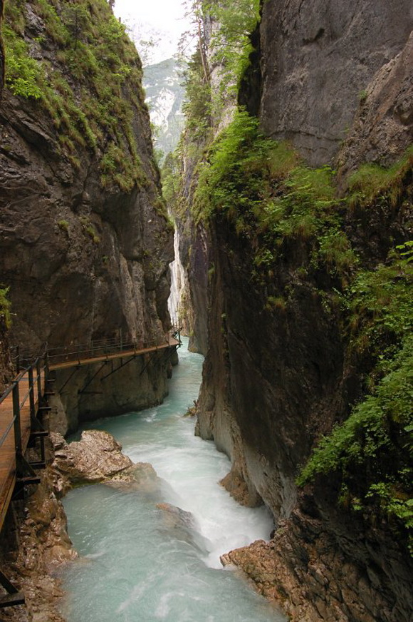 Ущелье Leutasch Gorgelan