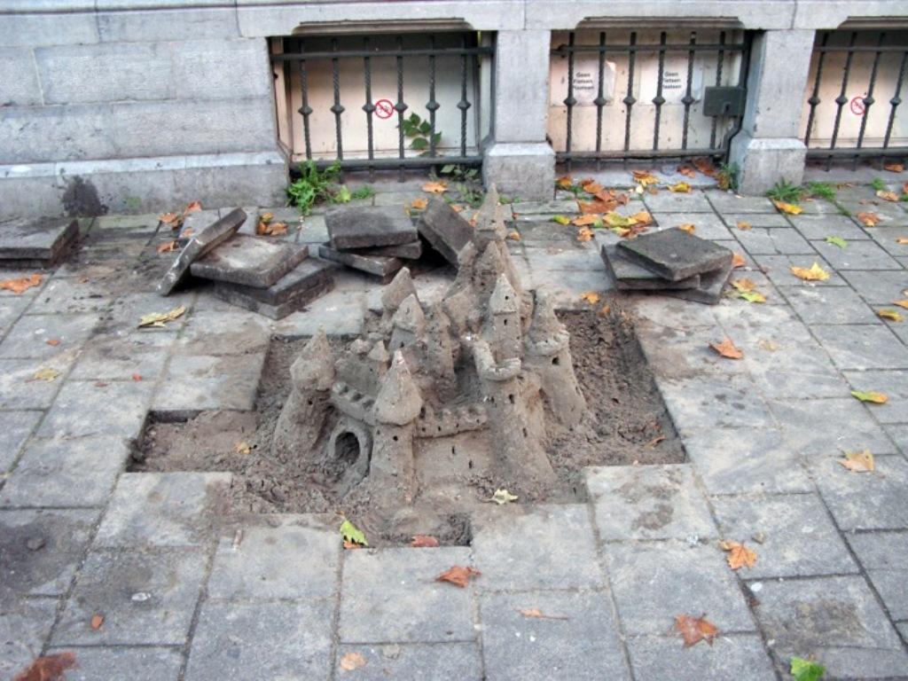 Брэд Дауни: Спонтанные городские скульптуры