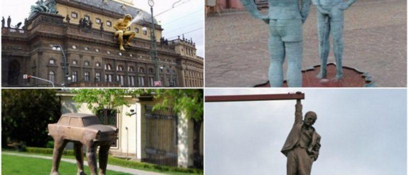 Шокирующие скульптуры
