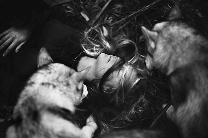 Фантазии женщины бегущей с волками в лесу 11