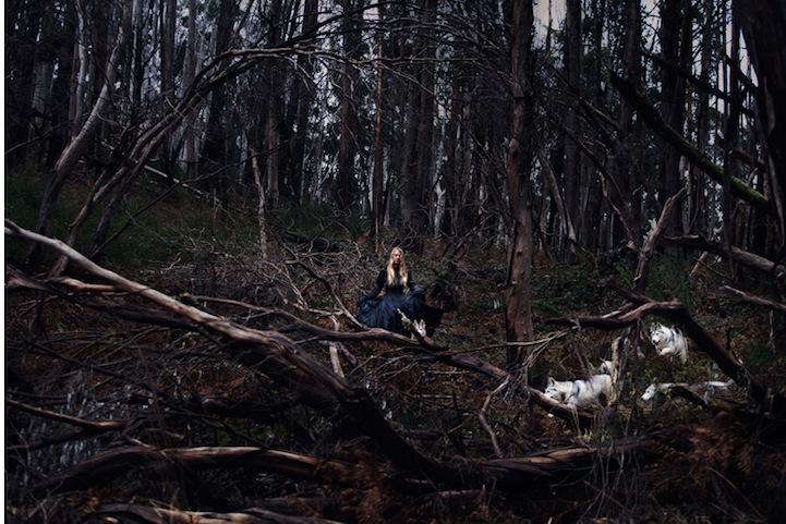 Фантазии женщины бегущей с волками в лесу 2