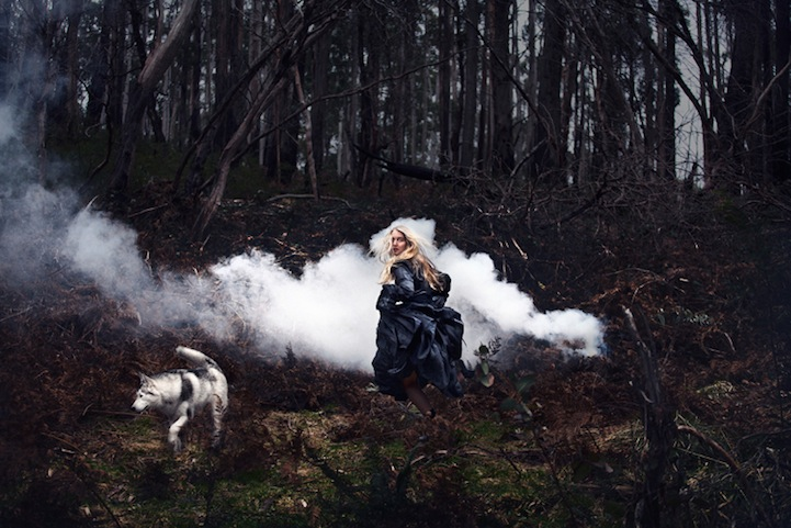 Фантазии женщины бегущей с волками в лесу 9