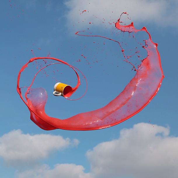Фотограф Манон Ветли: Полет фреша в воздухе