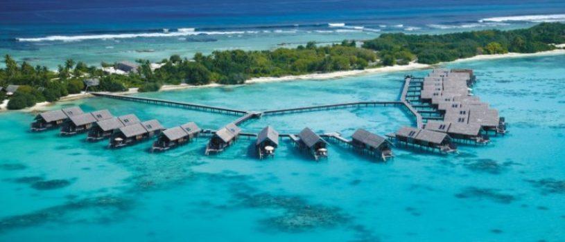 Роскошный спа-курорт на острове Виллинджили, Мальдивы
