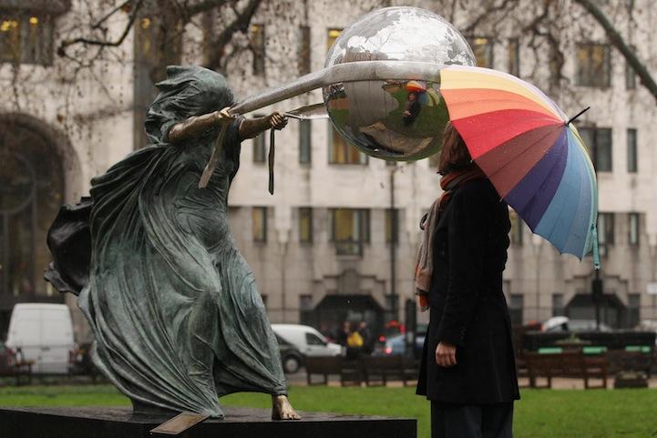 скульптура сила природы