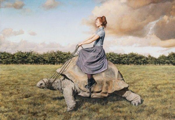 Сюрреалистические картины Лизы Адамс 4