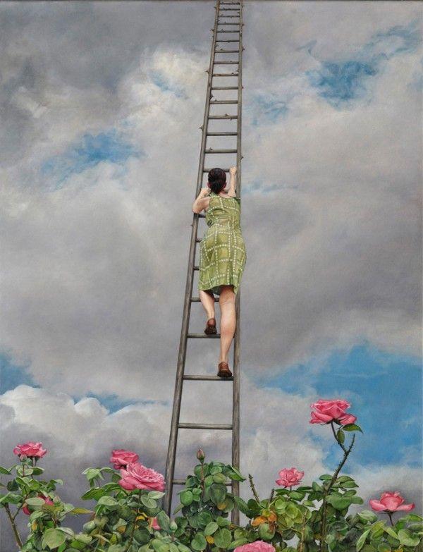 Сюрреалистические картины Лизы Адамс 5
