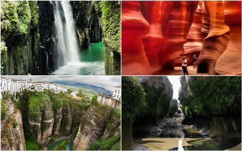 12 удивительных фотографий каньонов
