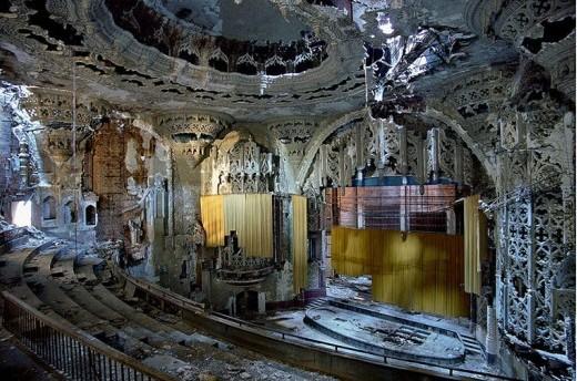 Руины Детройта