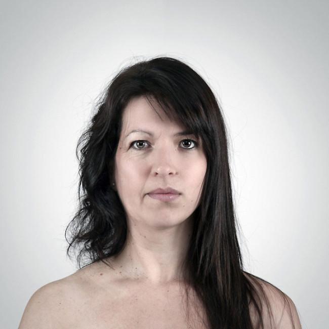 Слияние двух родственников в один портрет