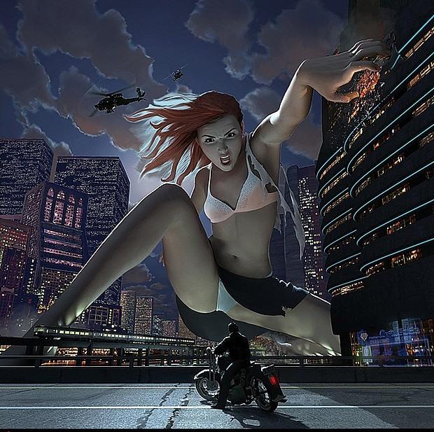 Цифровые иллюстрации Стивена Стэхлберга