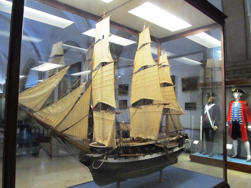 Макет одного из кораблей, участвовавших в экспедиции Васко да Гама