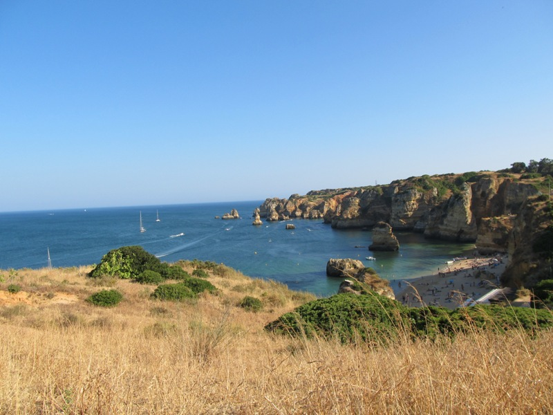 Вид на пляж Дона Анна