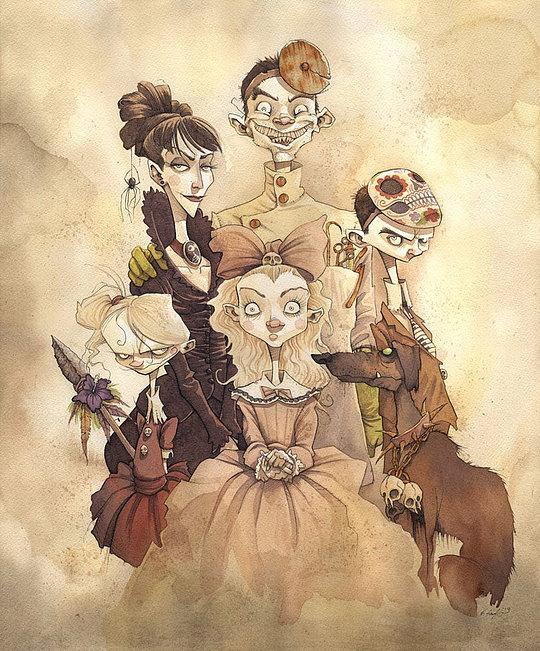 Оригинальные иллюстрации  Гриса Гримли