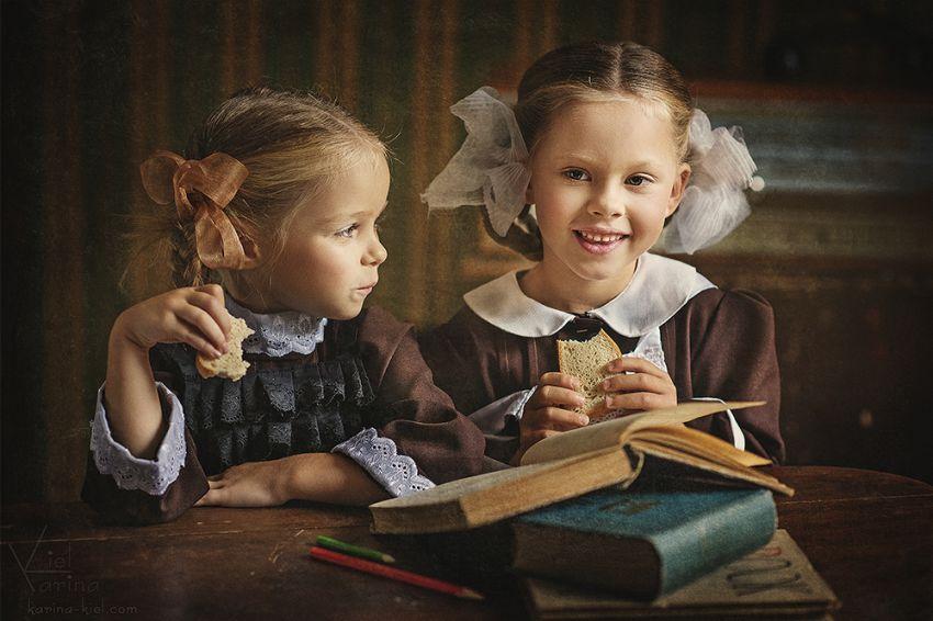 Одноклассницы из прошлого в фотопроекте Карины Киль
