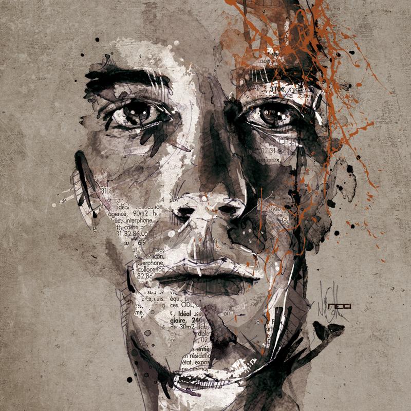 Цифровые портреты Флориан Николл 1