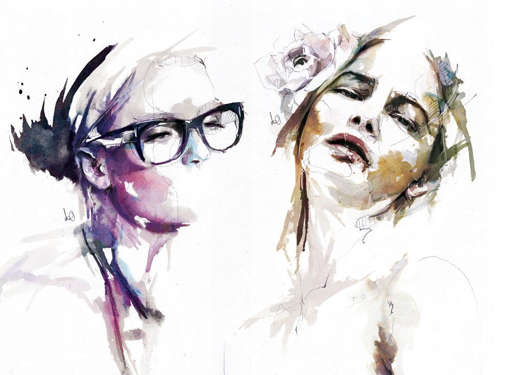 Цифровые портреты Флориан Николл 8