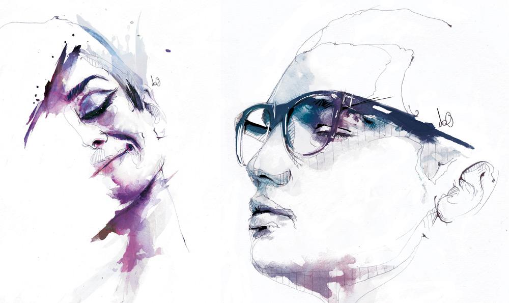 Цифровые портреты Флориан Николл 9