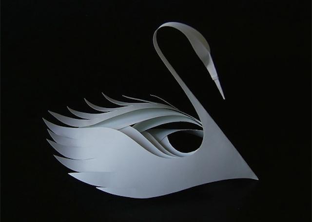 Бумажные скульптуры Bijian Fan2