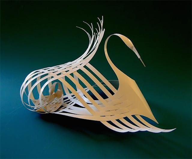 Бумажные скульптуры Bijian Fan4