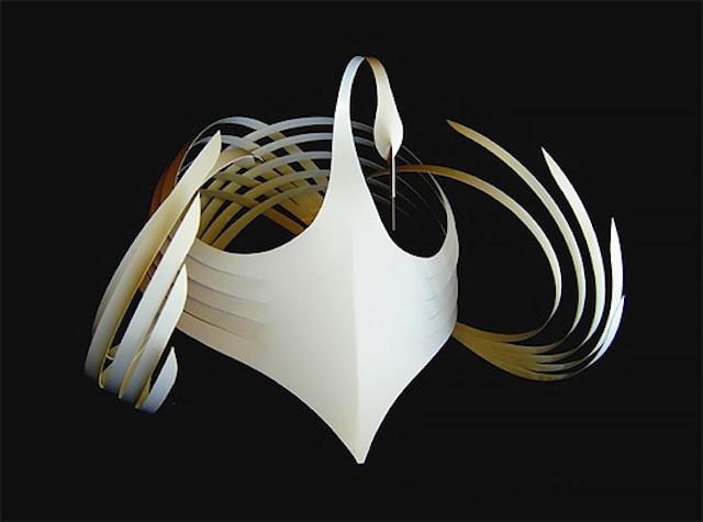 Бумажные скульптуры Bijian Fan5