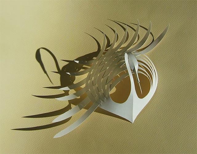 Бумажные скульптуры Bijian Fan7