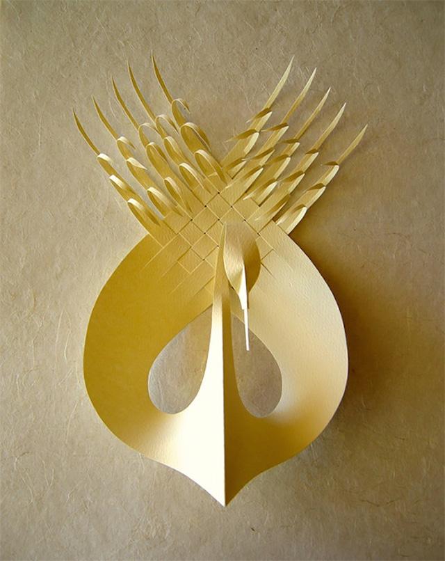 Бумажные скульптуры Bijian Fan8