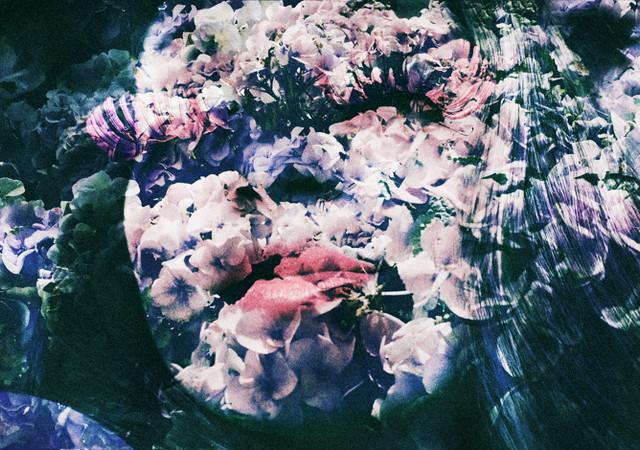 Двойная экспозиция на фотографиях Лары Кайоссес8