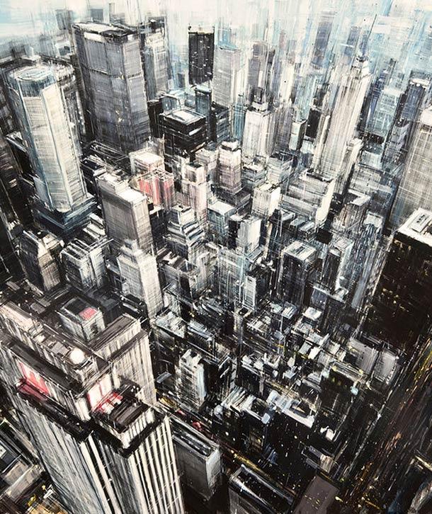 Городские пейзажи Valerio D'ospina1