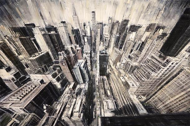 Городские пейзажи Valerio D'ospina12