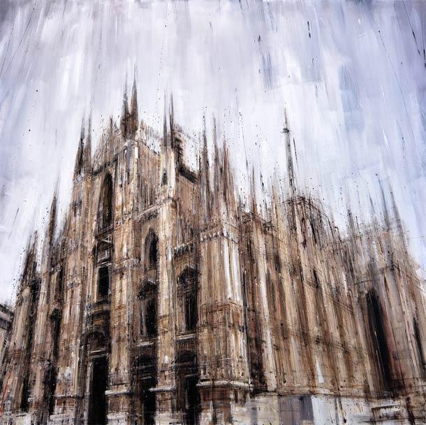 Городские пейзажи Valerio D'ospina13