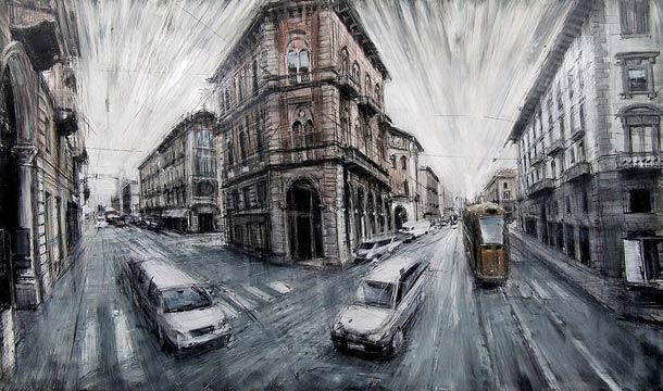 Городские пейзажи Valerio D'ospina15